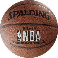 SPALDING SPALDING lopta NBA SILVER 10327