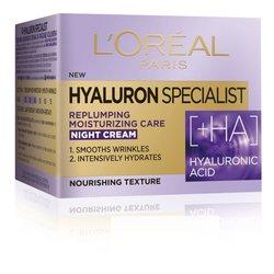 LOreal Paris Hyaluron Specialist noćna hidratantna krema za vraćanje volumena 50 ml