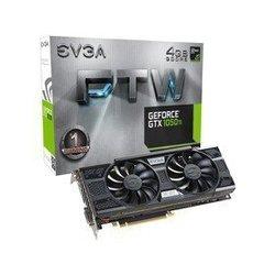 EVGA, EVGA GeForce GTX 1050 Ti FTW GAMING ACX 3.0 & LED (04G-P4-6258-KR) , 17EVGA0037