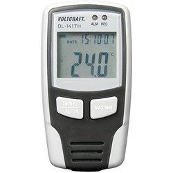 VOLTCRAFT Multi-zapisovalnik podatkov VOLTCRAFT DL-141TH merjenje vlage in temperature -40 do +70 °C 0 do 100 % rF kalibracija narejena po