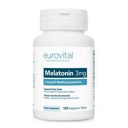 Eurovital prehransko dopolnilo MELATONIN, 120 tablet