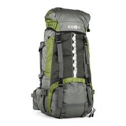 Klarfit Heyerdahl 2014, planinarski ruksak 85+10L, zeleni
