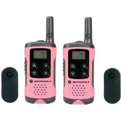 Motorola T41-PMR radijska postaja 2-delni komplet, roza