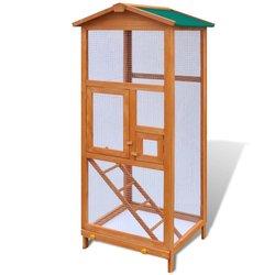 Kavez za Ptice Drveni 65 x 63 x 165 cm