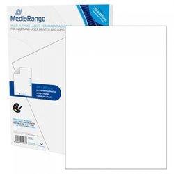 MediaRange večnamenske samolepilne etikete, A4, 210x297mm, bele, 500 nalepk