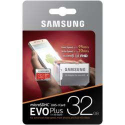 Samsung memorijska kartica micro SDHC EVO Plus + SD adapter, 32 GB