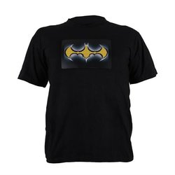 Majica s LED natpisom BATMAN LOGO
