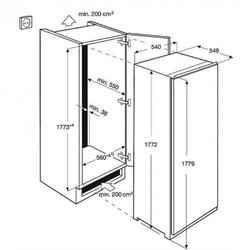 ELECTROLUX frižider ERN3211AOW