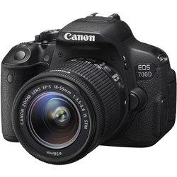 CANON D-SLR fotoaparat EOS 700D 18-55 IS STM