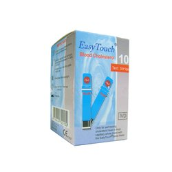 Trakice za mjerenje kolesterola za Wellmed Easy Touch GC, GCHb i GCU, 10 komada