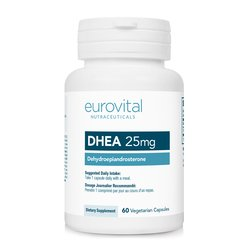 Eurovital hormon DHEA 25mg, 60 kapsul
