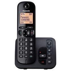 PANASONIC brezžični telefon KX-TGC220FXB, črn