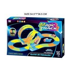 Dirkalna steza Magic z lupingom in avtomobilom