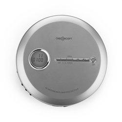 oneConcept CDC 100MP3, discman, prijenosni CD player, antishock, ESP, microUSB, srebrni