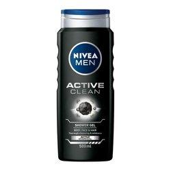 NIVEA Men Active Clean Gel za tuširanje 500 ml
