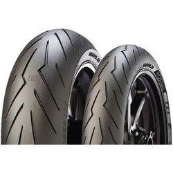 PIRELLI moto pnevmatika 190 / 55 R17 75W Diablo Rosso III TL (zadnje kolo, M/C)