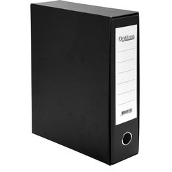 Optima registrator A4/80 Classic Box, crni