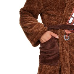 Star Wars Chewbacca mens fleece bathrobe