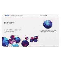 COOPER VISION kontaktne leče BIOFINITY, 6 leč