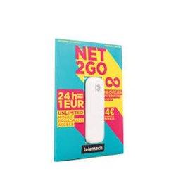 Predplačniški paket, Telemach, SIM Net2go + USB modem Huawei E3372h 4G