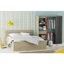Fola postelja Michigan (160x200cm), sonoma hrast