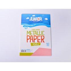 Papir metalik A4 250g 1/10, ROZE