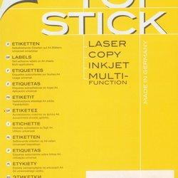 Etikete TOPSTICK 25,4x10 A4/189 1/100