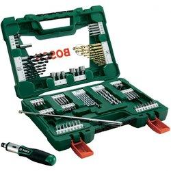 Bosch Asortiman univerzalnih svrdla TiN Bosch V-Line 91-dijelni
