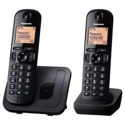 PANASONIC brežžični telefon DECT DUO (KX-TGC212PDB)