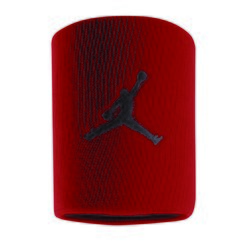 NIKE JORDAN JUMPMAN WRISTBANDS GYM RED/BLACK AC4094-605