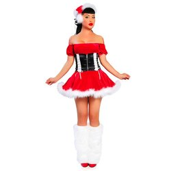 več fotografij tovarniške prodajalne različne zasnove ženski kostum božična obleka s korzetom - Ceneje.si