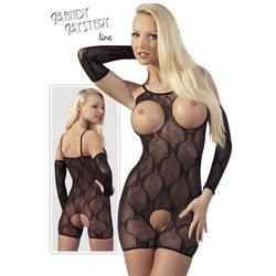 MANDY MYSTERY čipkana haljina sa otvorima za grudi, COTEL02135
