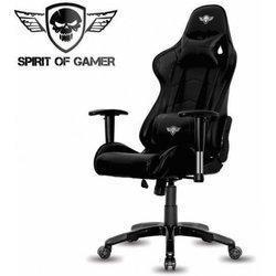 SPIRIT OF GAMER gaming stol Demon, črn