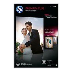 CR677A - HP Premium Plus Glossy Photo Paper, 300 gsm, 25 listova, 10 x 15 cm