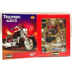 BBURAGO set za slaganje MOTOR 1/18 MOTO KIT - TRIUMPH ROCKET III
