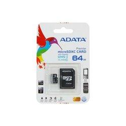 A-Data UHS-I (AUSDX64GUICL10-RA1) MicroSDXC 64GB class 10+adapter