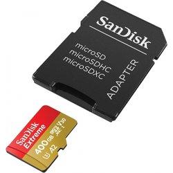 SANDISK spominska kartica microSD Extreme 400GB UHS-I + adapter