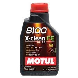 Motul motorno ulje 8100 X-Clean Fe 5W30, 1L