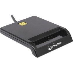 MANHATTAN vanjski USB čitač pametnih kartica 102049