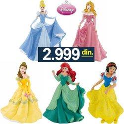 Bullyland Disney Figurice Princeze Pepeljuga Sne?ana Aurora Ariel Bel