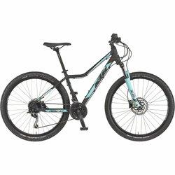 KTM Ženski brdski bicikl Crna 42 Peak XT