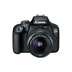Canon EOS 4000D + 18-55 DC III Black DSLR digitalni fotoaparat s objektivom EF-S 18-55mm f/3.5-5.6