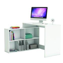 pisalna miza Corner bela