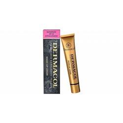Dermacol Make-Up Cover SPF30 vodoodporni in izjemno prekrivni puder 30 g odtenek 208