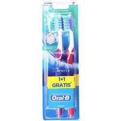 Oral B Advantage 3D White Fresh 40 Medium 1+1 četkica za zube