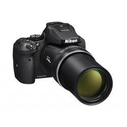 NIKON Coolpix P900 kompaktni fotoaparat, črn