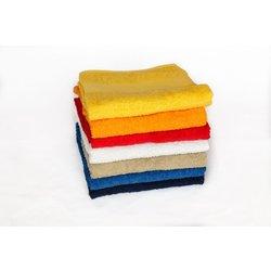 Brisača Economy 30 x 50 cm, 360 gramov, rdeča, 5 kosov
