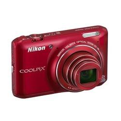 NIKON fotoaparat S6400 CRVENI
