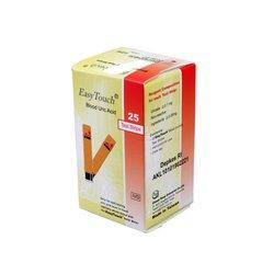 Trakice za mjerenje mokraćne kiseline za Wellmed Easy Touch GCU i GU, 25 komada