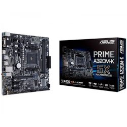 ASUS osnovna plošča MB PRIME A320M-K, AMD AM4, DDR4, mATX